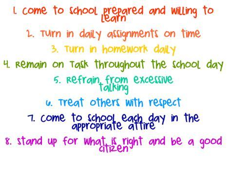 class rules  shakarchis  grade classroom
