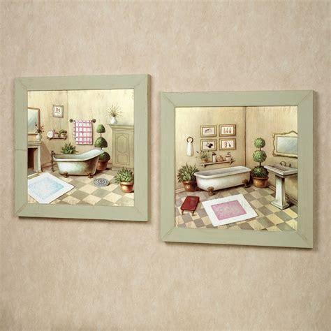 bathroom artwork ideas garran bathroom washtub framed wall set