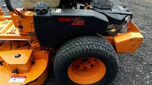 Scag 52 U0026quot  Tiger Cub Zero Turn Riding Commercial Lawn Mower
