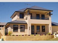 Exterior; Colour Exteriors Double Storey House Designs