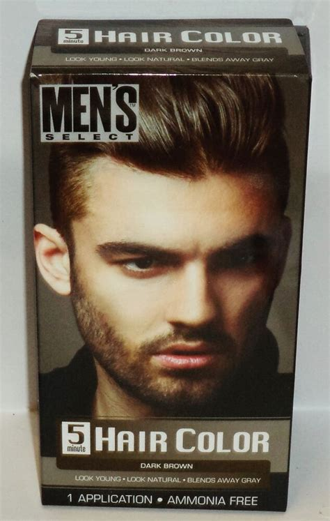 mens select  minute hair color blends  gray