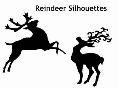 Reindeer Silhouette Christmas Shadow Puppet Puppets Silhouettes