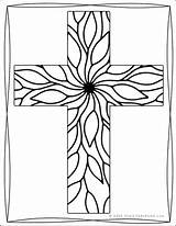 Coloring Cross Pages Religious Adults Different Designs Sample Printable Sheets Children Decorative Want Printables Scrolling Keep Reallifeathome sketch template