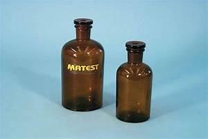 Laboratory glassware - reagent bottles - Matest