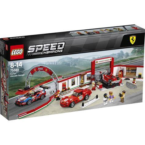 Speed build on ferrari ultimate garage set 75889 please. LEGO Speed Champions Ferrari Ultimate Garage - 75889 | BIG W
