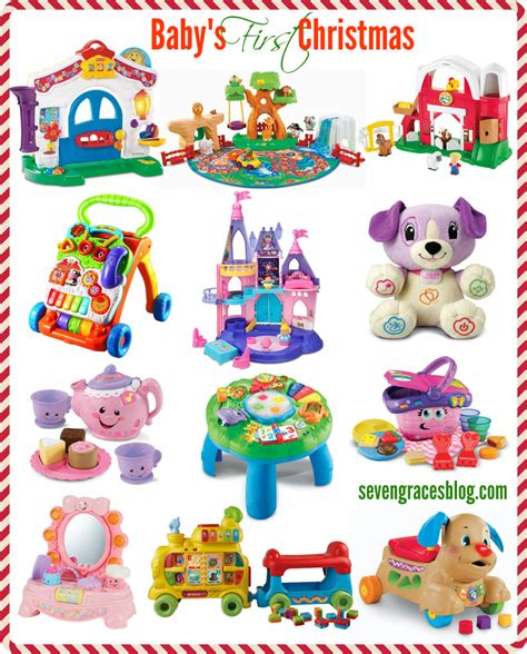 Best Gifts For Baby's First Christmas  Seven Graces