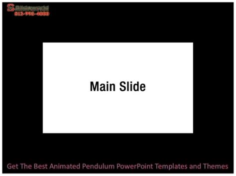 Get The Best Animated Pendulum Power Point Templates And