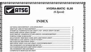 Hydra-matic 6l80 6-speed Transmission Repair Manual