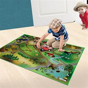 tapis de sol enfant grand tapis de jeu theme campagne With grand tapis enfant