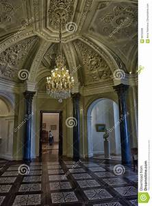 Interior Of Marble Palace Editorial Stock Photo - Image ...