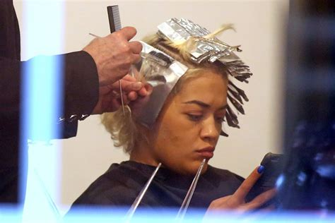 Rita Ora At A Hair Salon In Vancouver 04132016 Hawtcelebs