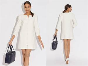 exemple patron gratuit robe style courrege couture With robe style courrege