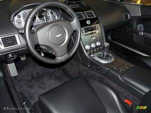 Obsidian Black Interior 2006 Aston Martin DB9 Coupe Photo ...