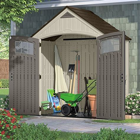 Suncast Cascade Shed Canada by Suncast Bms7400 Cascade Molded Resin Storage Shed