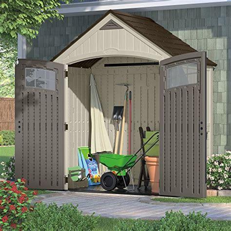 suncast cascade shed canada suncast bms7400 cascade molded resin storage shed