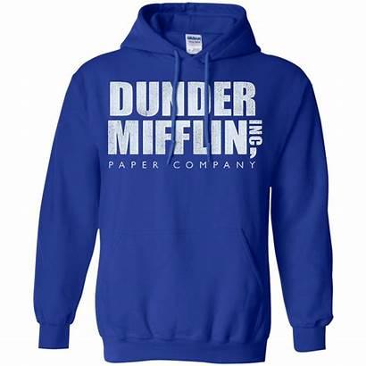 Mifflin Dunder Hoodie Sweater Paper Office