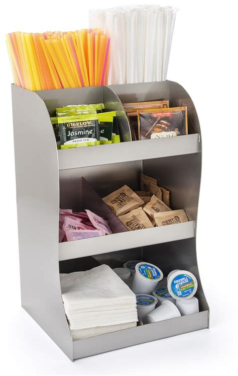 Check out our coffee station organizer selection for the very best in unique or custom, handmade pieces from our организация и хранение shops. Coffee Creamer Display | Multi-Tiered Stainless Steel Organizer