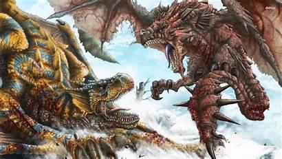 Rathalos Tigrex Monster Hunter Wallpapersafari