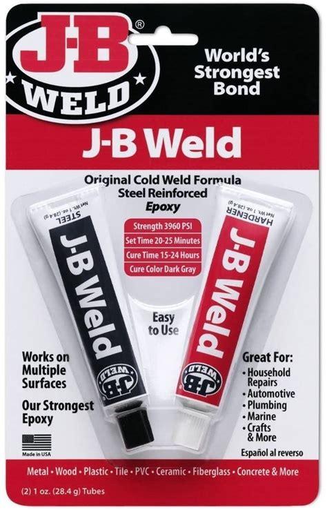 weld epoxy glue steel reinforced