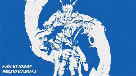 Evolution Of Naruto Uzumaki (re-design) By Ishiku5238 On