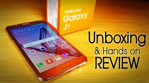 Samsung Galaxy J7 Unboxing & Hands On Review Best Mid