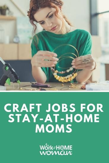 craft jobs  stay  home moms  work  home woman