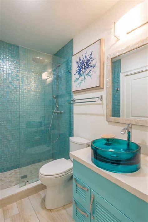Carrelage Salle De Bain Turquoise 1001 designs uniques pour une salle de bain turquoise