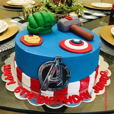 Marvel comics cake superhero cake! 50 Avengers Cake Design (Cake Idea) - October 2019 ...