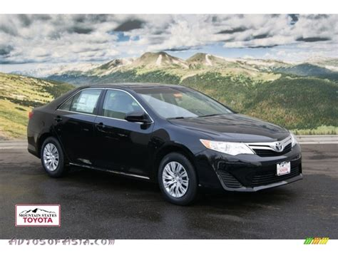 2012 Toyota Camry Le by 2012 Toyota Camry Le In Attitude Black Metallic 176187
