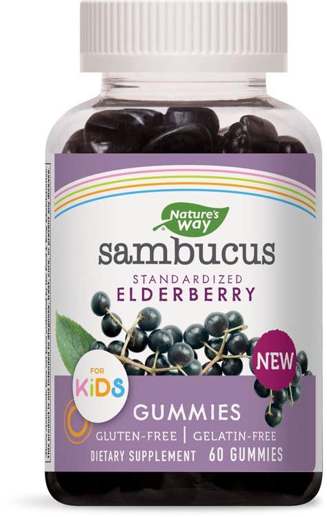 Amazon.com: Nature's Way Sambucus Elderberry Gummies