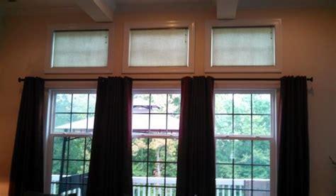 how to window treatments for transom windows window works