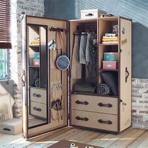 Dressing Maison Du Monde : une valise dressing valises pinterest valises dressing et chambre vintage ~ Teatrodelosmanantiales.com Idées de Décoration
