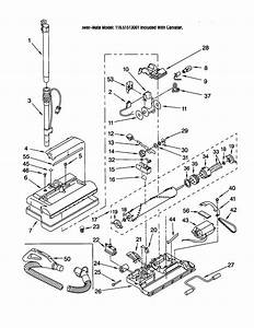 116 21513001 Kenmore Vacuum Cleaner Canister Manual