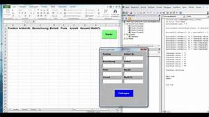 12es Fortlaufende Nummer In Excel Datenbank Erstellen