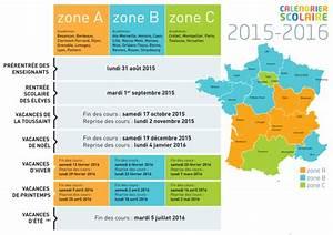 Dates De Vacances Scolaires 2016 : vacances scolaires 2015 2016 ~ Melissatoandfro.com Idées de Décoration