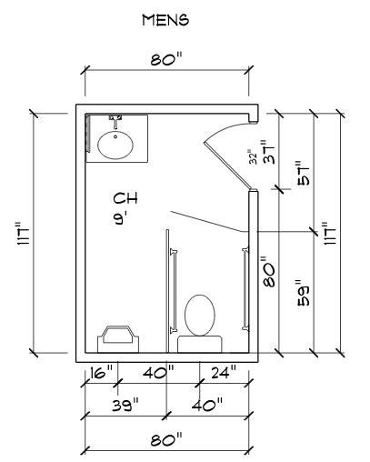 ada redesigning a s bathroom based on ada