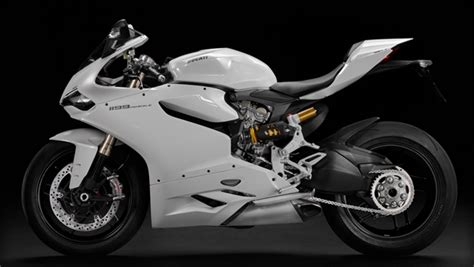 Ducati 1199 899 Panigale Motorcycle Pearl White Fairings