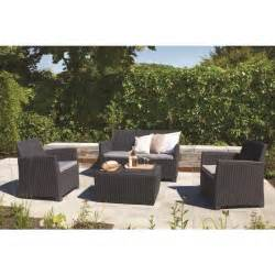 Salon De Jardin Allibert Corona by Corona Salon De Jardin Aspect Rotin Tress 233 Rond Achat