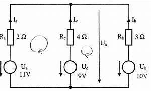 Stromkreis Berechnen : netzwerkgleichungssystem bestimmung der spannung ux ~ Themetempest.com Abrechnung