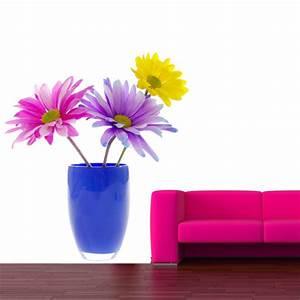 stickers pot de fleurs ziloofr With affiche chambre bébé avec pot de fleur haut design