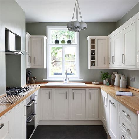 Kitchen Feature Wall Ideas - small kitchen design ideas ideal home