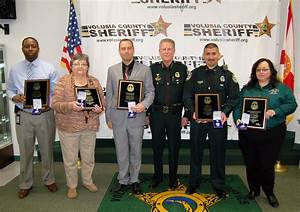 Sheriff's Office Honors Its Top Employees Of 2015