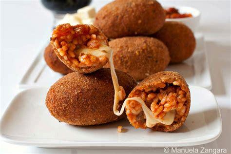 recette de cuisine italienne supplì au téléphone croquettes ovales de riz la