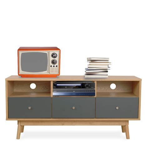 canapé nordique meuble tv scandinave skoll by drawer