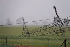 collapsed transmission tower abc news australian