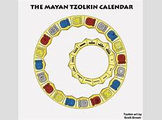 Tzolkin Wheel by Scott Brown Mayan Messages