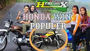 Honda Win 100 Honda Win Modifikasi