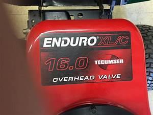 Rasentraktor Tecumseh Enduro 16hp Motor Problem