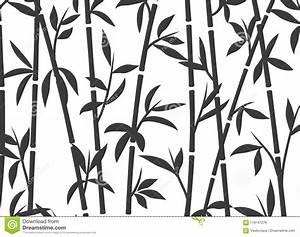 Papier Peint Arbre Noir Et Blanc : herbe asiatique japonaise de papier peint d 39 usine de fond en bambou mod le en bambou de vecteur ~ Nature-et-papiers.com Idées de Décoration