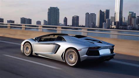 Carbon Fiber Desktop Background Lamborghini Aventador Roadster Pictures Videos
